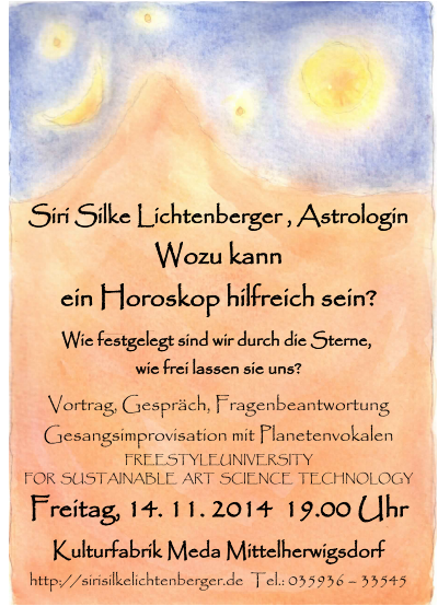 Siri Slke Lichtenberger<br /><br /><br />                 Astrologin